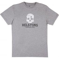 T-SHIRT HELSTON'S SKULL COTON