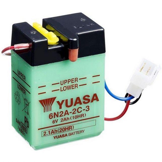 Batterie YUASA 6N2A-2C-3 avec entretien