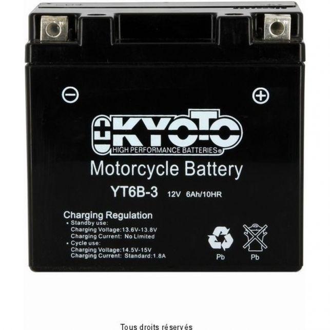 Batterie KYOTO YT6B-3 sans entretien