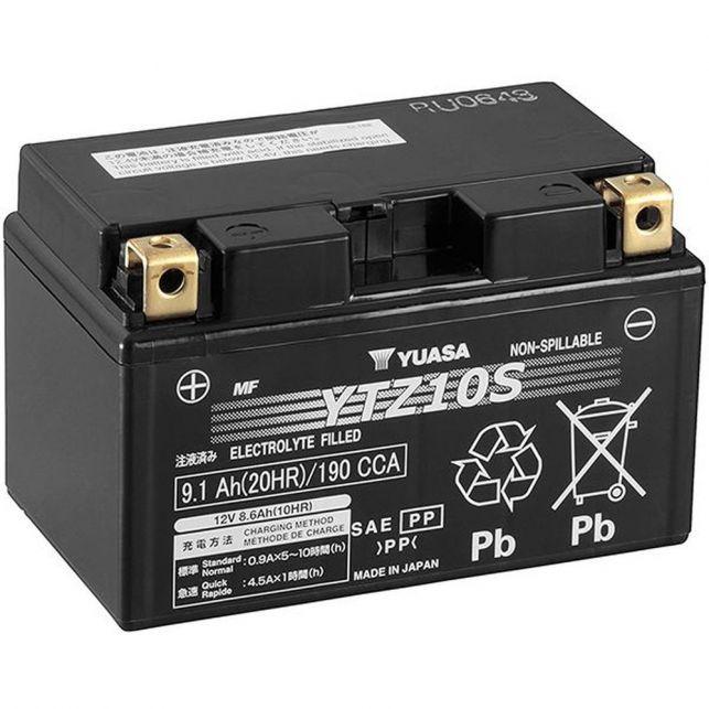 Batterie YUASA YTZ10-S sans entretien