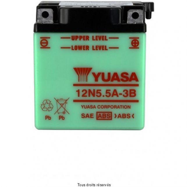 Batterie YUASA 12N5.5A-3B avec entretien