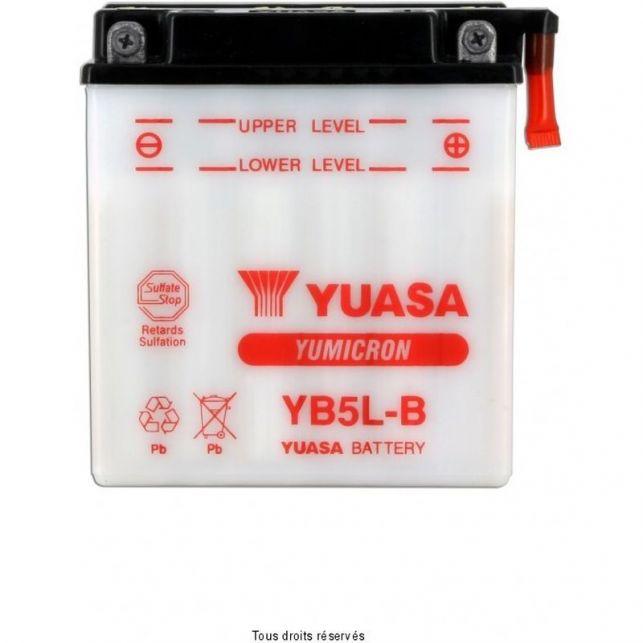 Batterie YUASA YB5L-B avec entretien