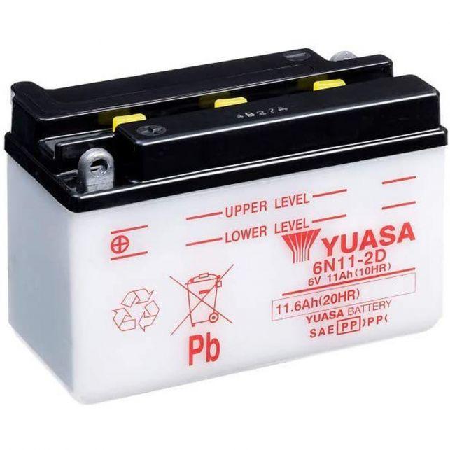 Batterie YUASA 6N11-2D  avec entretien