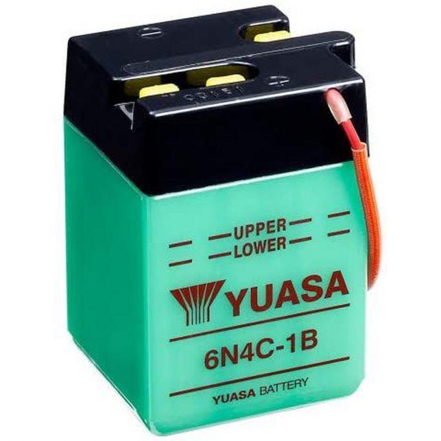 Batterie YUASA 6N4C-1B  avec entretien