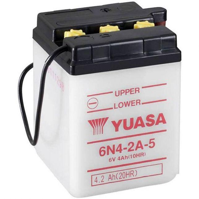 Batterie YUASA 6N4-2A-5  avec entretien