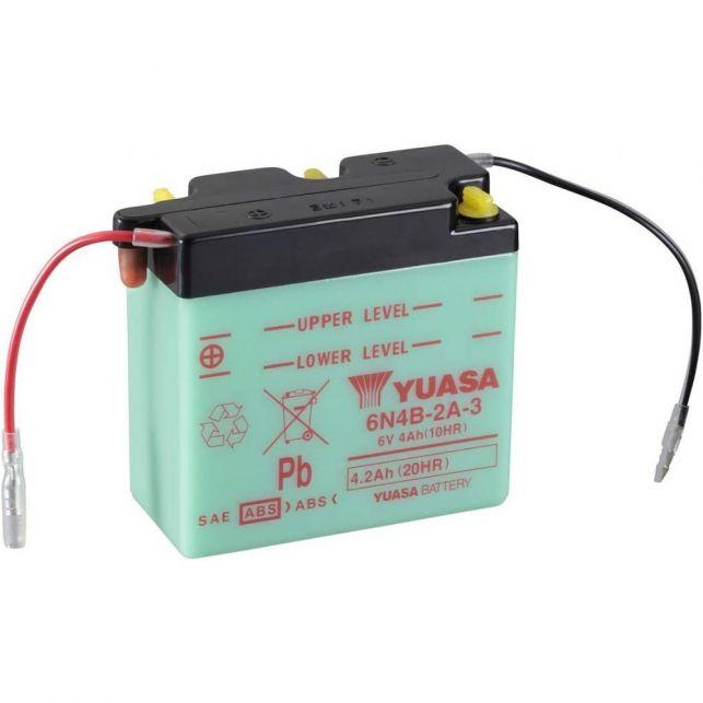 Batterie YUASA 6N4B-2A-3  avec entretien