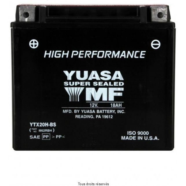 Batterie YUASA YTX20H-BS sans entretien