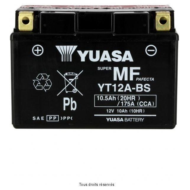 Batterie YUASA YT12A-BS sans entretien