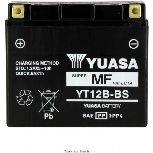 Batterie YUASA YT12B-BS sans entretien