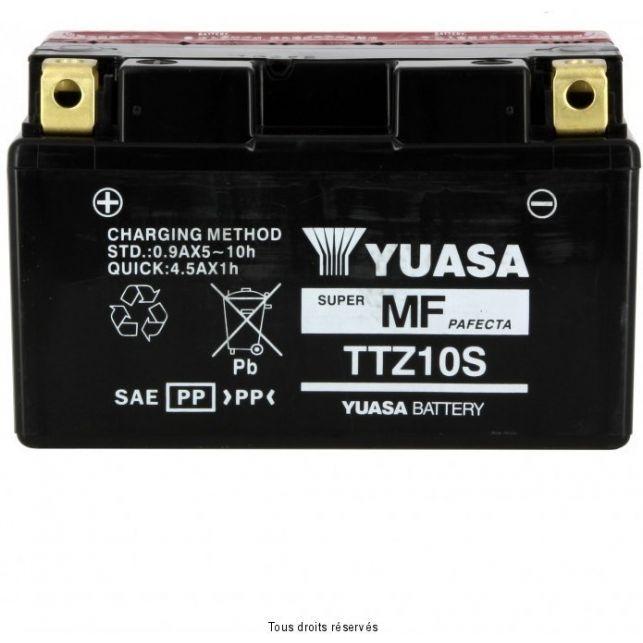 Batterie YUASA TTZ10-S sans entretien