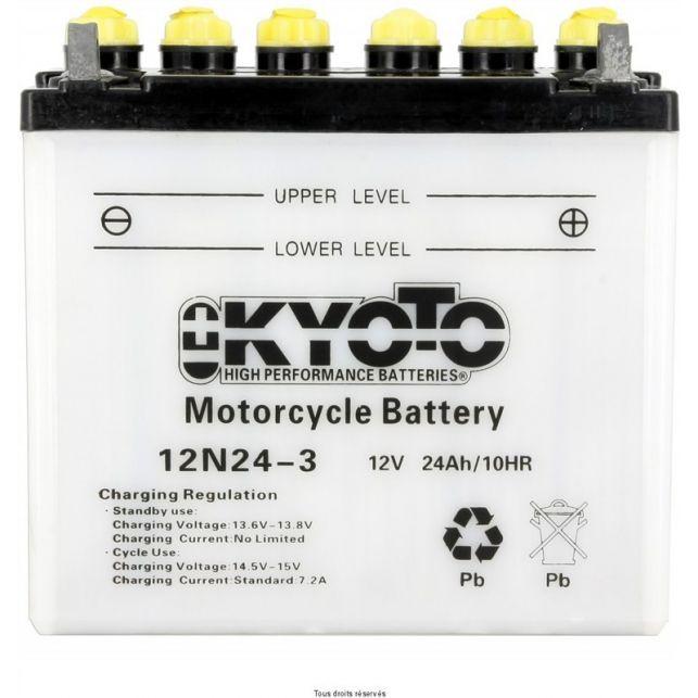 Batterie KYOTO 12N24-3 avec entretien