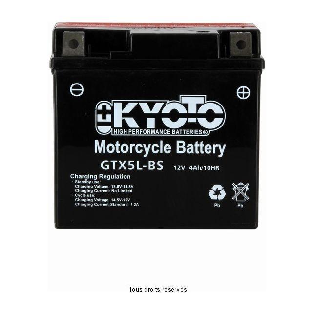 Batterie KYOTO YTX5L-BS sans entretien