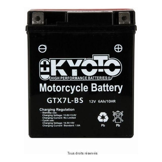 Batterie KYOTO YTX7L-BS sans entretien