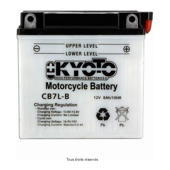 Batterie KYOTO YB7L-B avec entretien