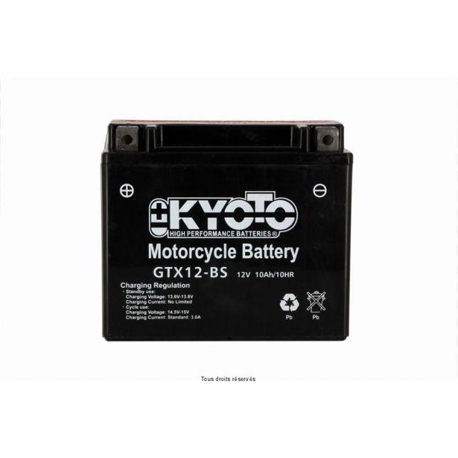 Batterie KYOTO YTX12-BS sans entretien