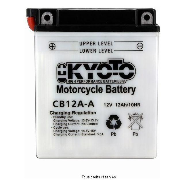 Batterie KYOTO YB12A-A avec entretien