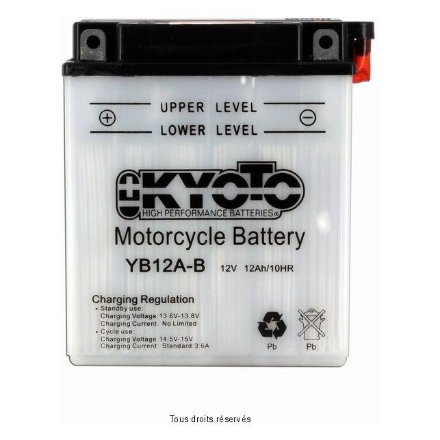 Batterie KYOTO YB12A-B avec entretien