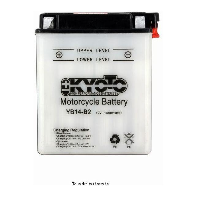 Batterie KYOTO YB14-B2 avec entretien