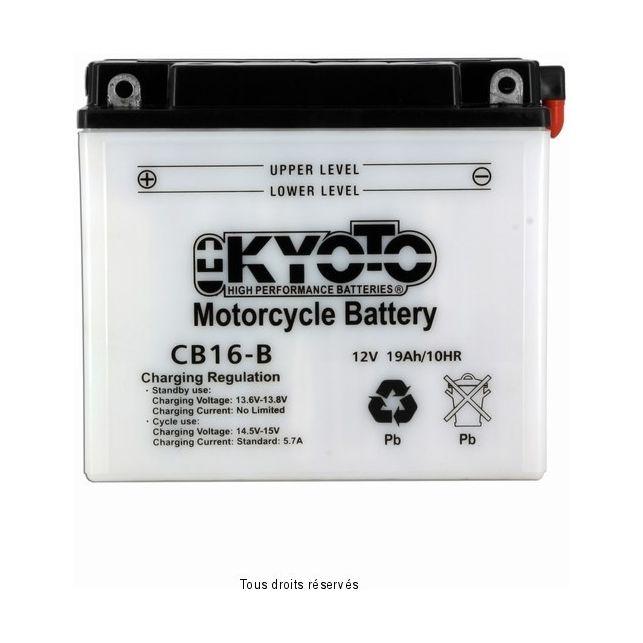 Batterie KYOTO YB16-B avec entretien