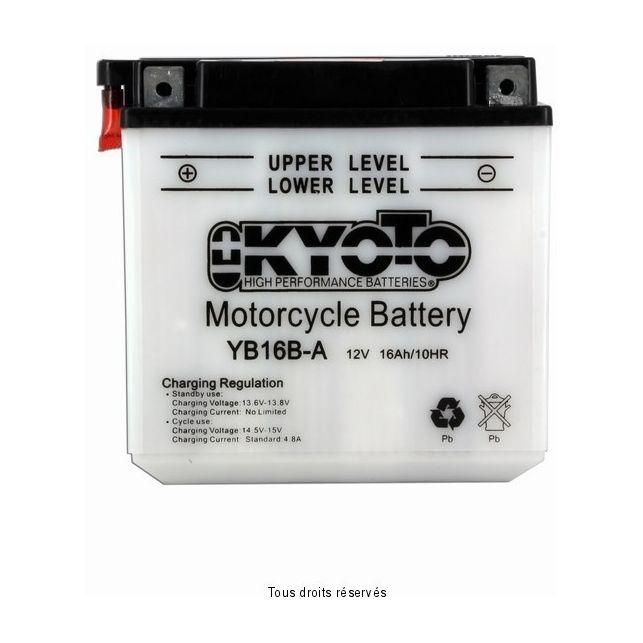 Batterie KYOTO YB16B-A avec entretien