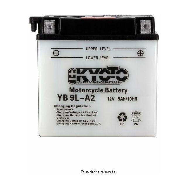 Batterie KYOTO YB9L-A2 avec entretien