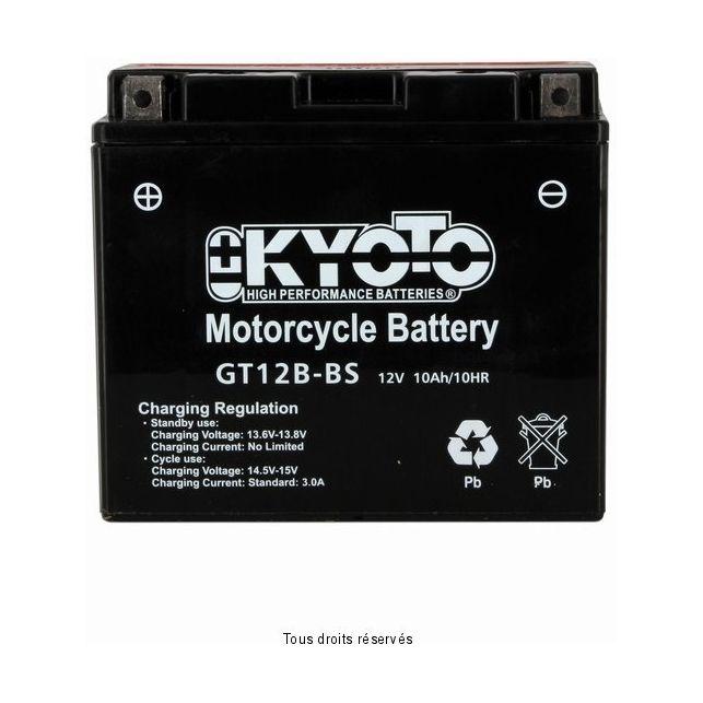 Batterie KYOTO YT12B-BS sans entretien