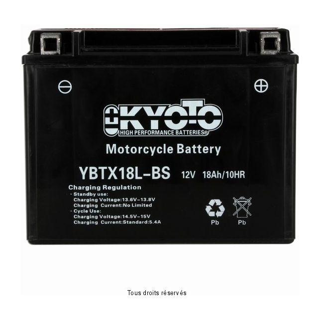 Batterie KYOTO YTX18L-BS sans entretien