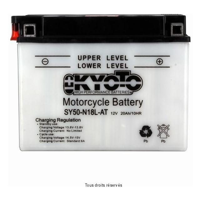 Batterie KYOTO SY50-N18L-AT avec entretien