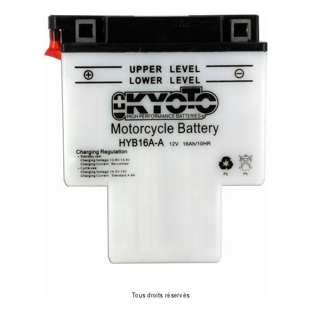 Batterie KYOTO HYB16A-A avec entretien