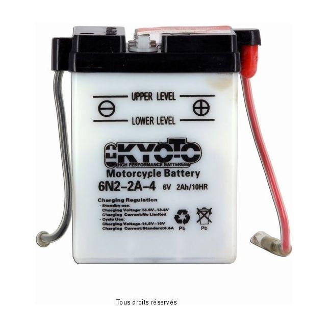 Batterie KYOTO 6N2-2A-4 avec entretien