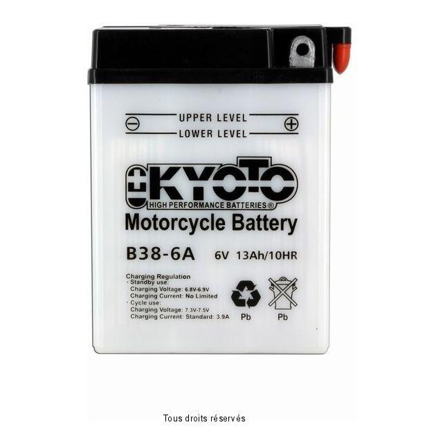 Batterie KYOTO B38-6A avec entretien