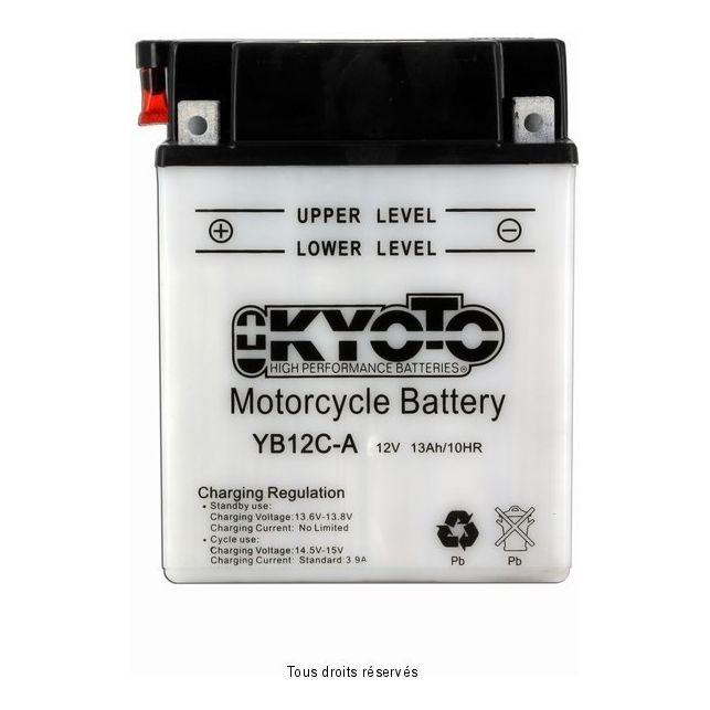 Batterie KYOTO YB12C-A avec entretien