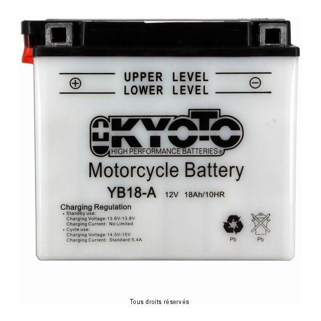 Batterie KYOTO YB18-A avec entretien