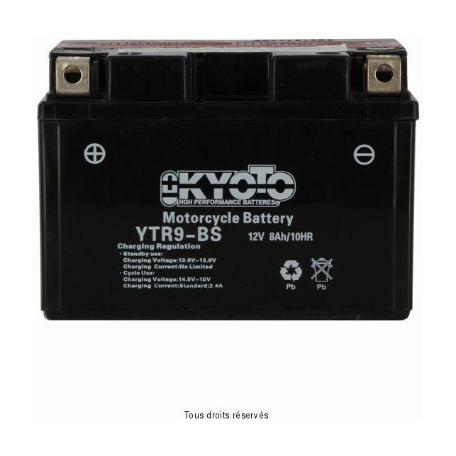 Batterie KYOTO YTR9-BS sans entretien