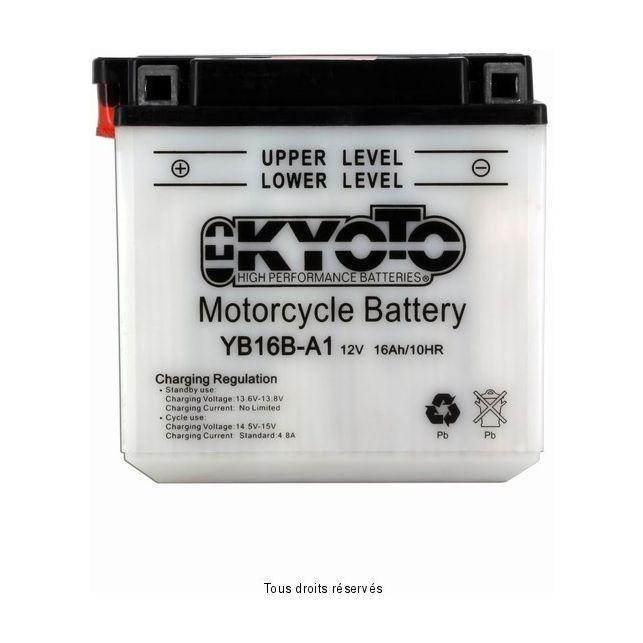 Batterie KYOTO YB16B-A1 avec entretien