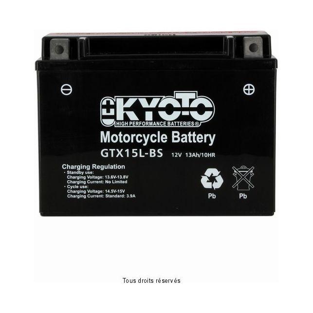 Batterie KYOTO YTX15L-BS sans entretien