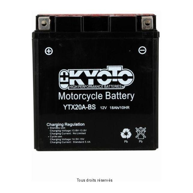 Batterie KYOTO YTX20A-BS sans entretien