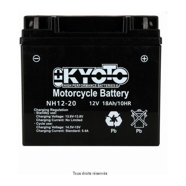 Batterie KYOTO NH12-20 sans entretien
