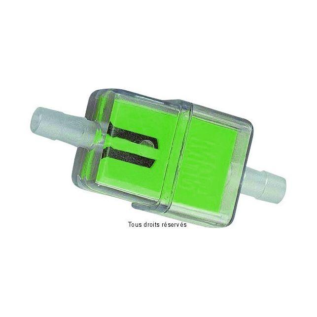 Filtre à essence Plastique KYOTO Plat Vert Ø6mm