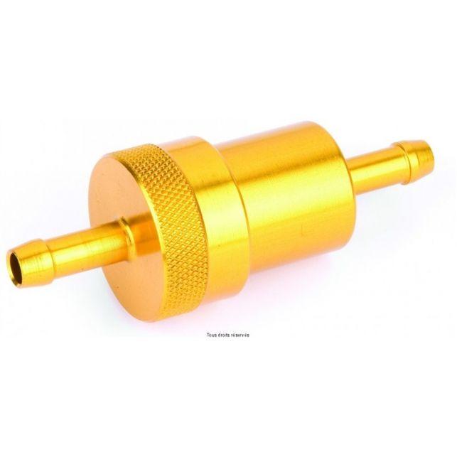Filtre à essence Métal KYOTO Or Ø6mm