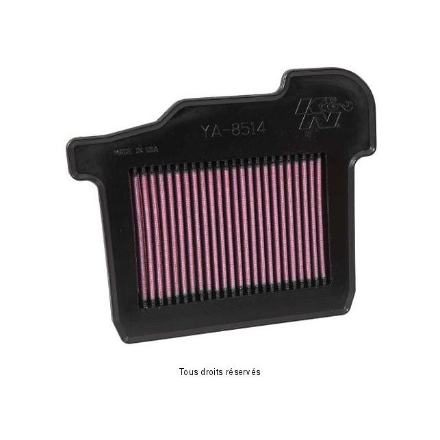 Filtre à air Lavable K&N YA-8514