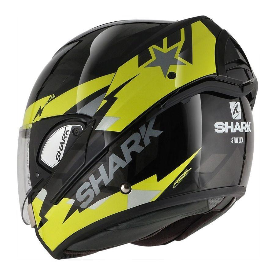 Casque Modulable Shark Evoline 3 Strelka Moto Expert