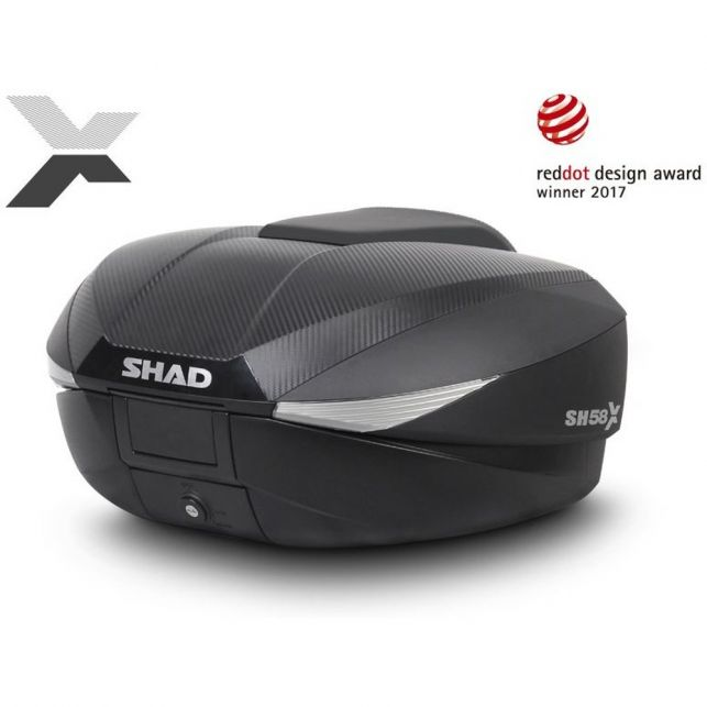 TOP CASE SHAD SH58X CARBON